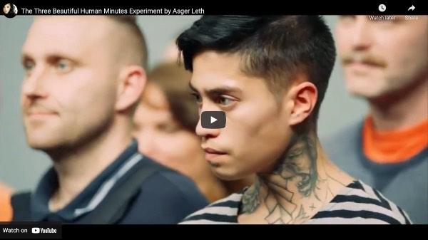 Three Beautiful Human Minutes Experiment