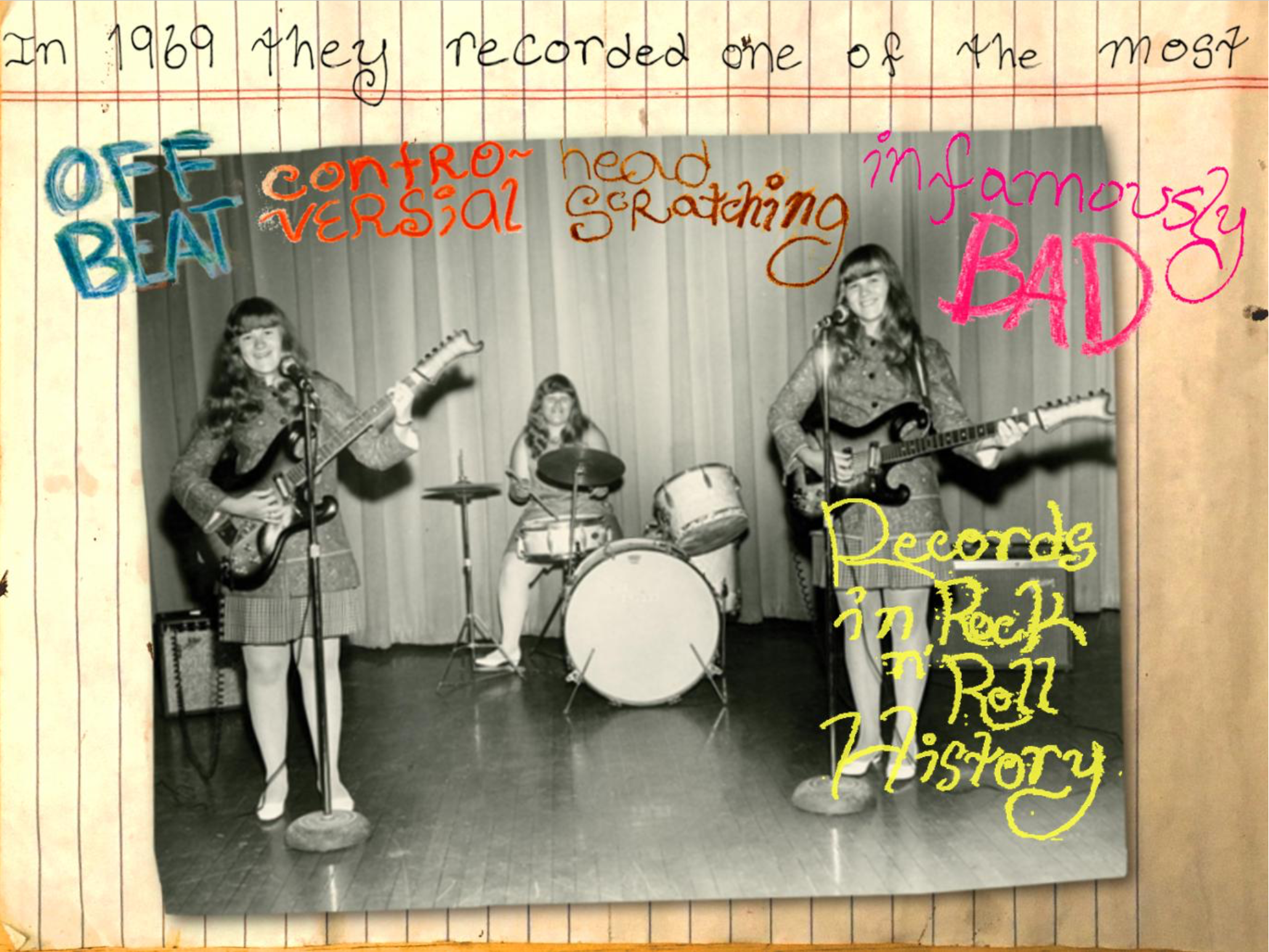 The Shaggs!  The Movie of the Musical!
